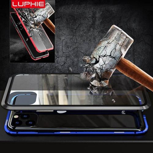 capa metalica magnética iphone 11, 11 pro e 11 pro max