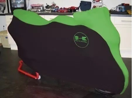 capa moto kawasaki vulcan 1500 mean streak proteção cachorro