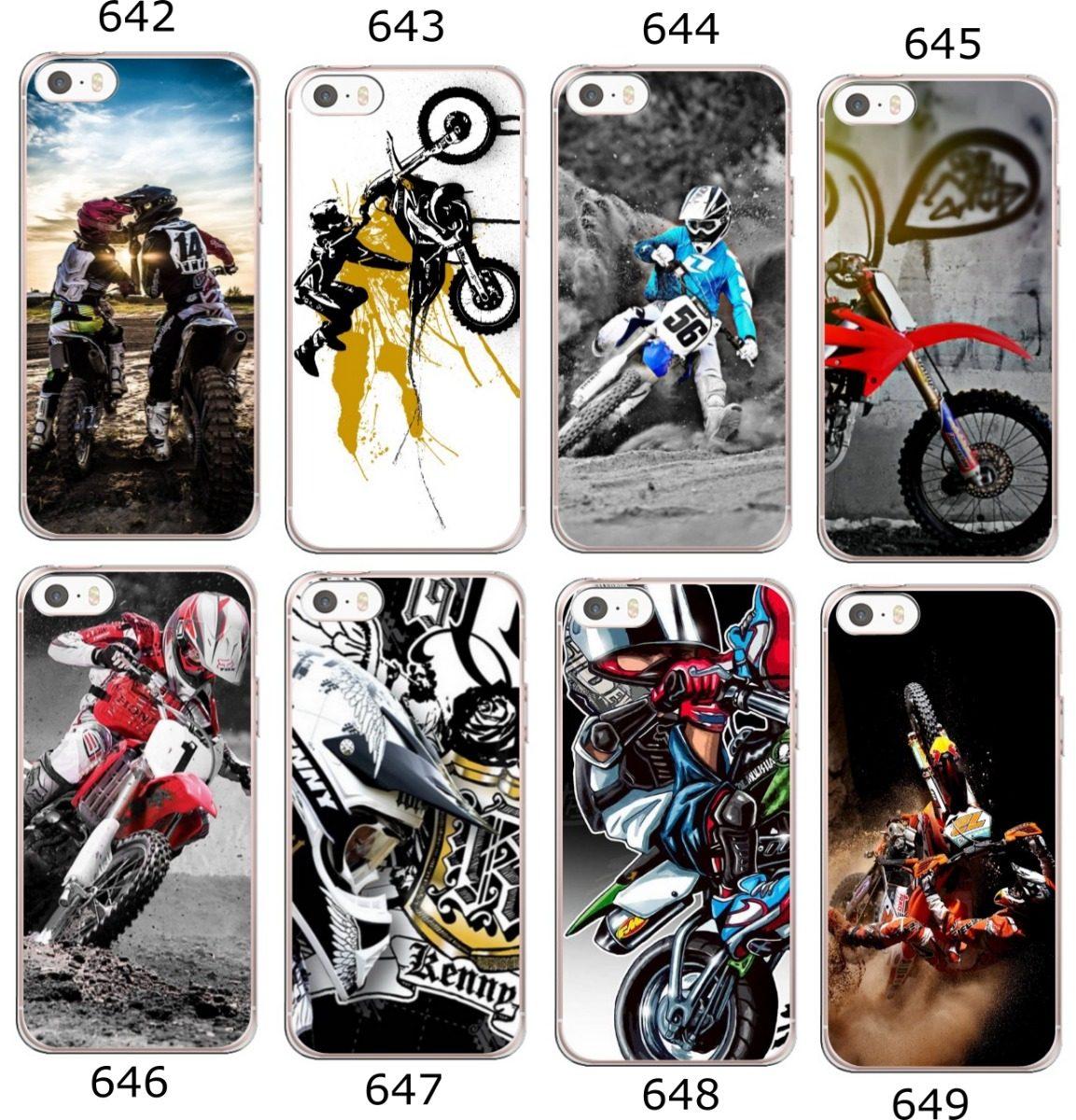 the latest ef47c 86fe5 Capa Motocross - iPhone 4 5s 5c 5se 6s 7 8 8 Plus