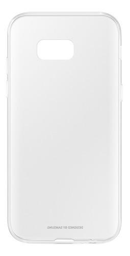 capa original clear jelly cover samsung a7 2017 transparente