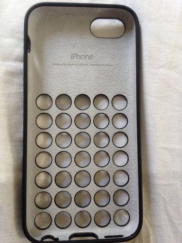 capa original iphone 5c preta