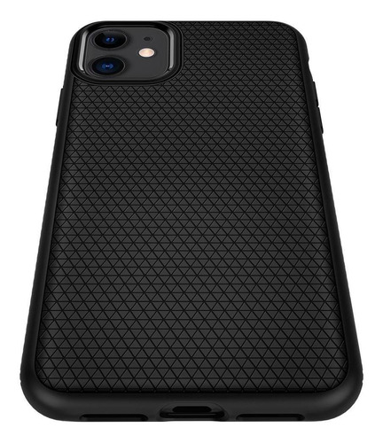 capa original spigen apple iphone 11 6,1  liquid air black