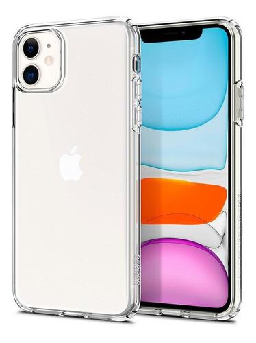 capa original spigen apple iphone 11 6,1  liquid crystal