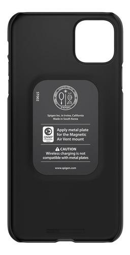 capa original spigen iphone 11 6,1 thin fit black ultra leve