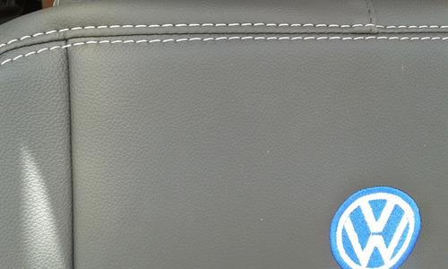 capa p/ banco auto em couro courvin grafite gol g6 04portas