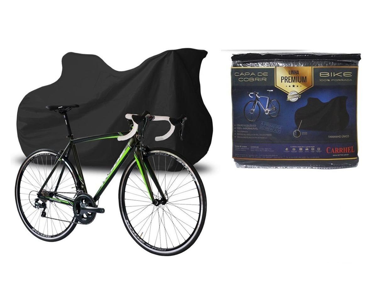 c2674b6fe Capa P  Cobrir Bicicleta Bike Forrada Impermeável Aro Até 29 - R  89 ...