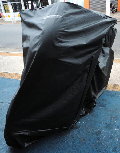 capa p/ cobrir moto porta baú 47 litros térmica versys 650