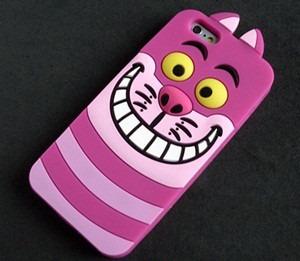 capa p/ iphone 6  4.7 case cartoon cheshire cat