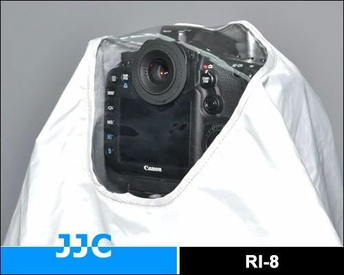 capa p/ lluvia lentes largos 300 400 600 y 800mm nikon canon