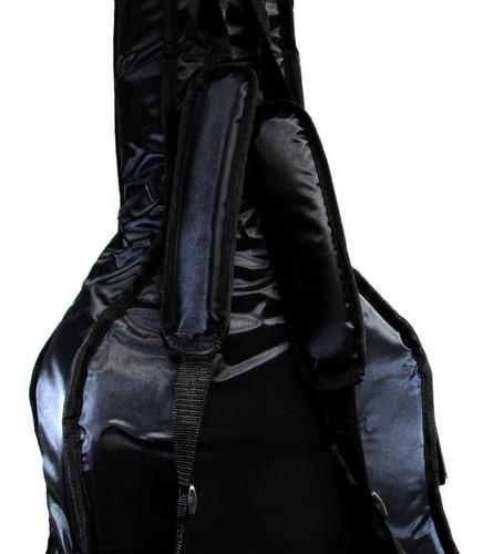 capa p/ violão clássico almofadada luxo modelo 18 digiorgio