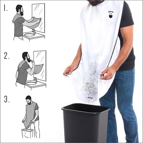 capa para afeitar regalo para hombres barba-ros barba capas