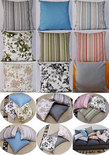 capa para almofada tecido impermeável 43cm x43 cm