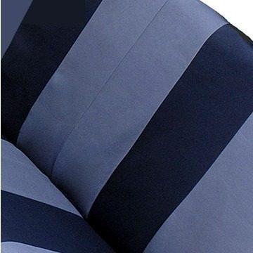 capa para banco de automóvel - estampada preta