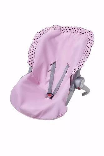 capa para bebê conforto rosa promoção