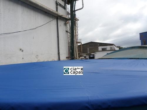 capa para caixa dágua redonda de 10.000 litros