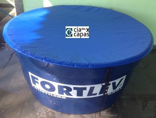 capa para caixa dágua redonda de 2000 litros