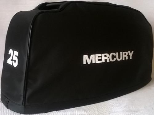 capa para capo motor de popa mercury 25hp americano até 1990