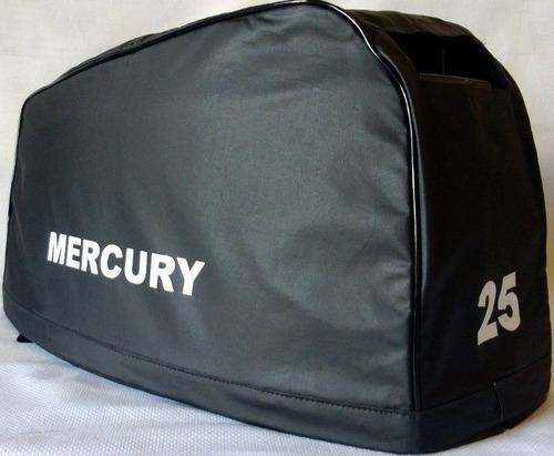 capa para capo motor de popa mercury 25hp sea-pro até 2011.