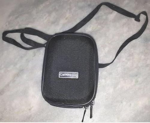 capa para câmera fotográfica digital preta