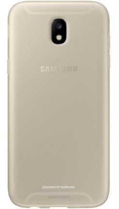 capa para galaxy j5 pro 2017 samsung jelly cover dourada