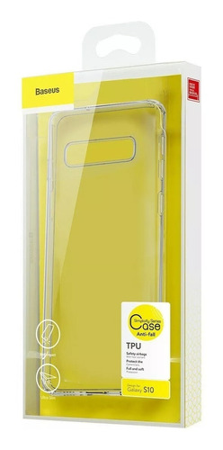 capa para galaxy s10 baseus simple series slim original