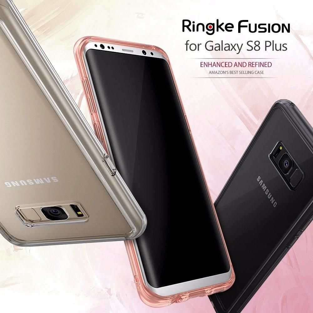 d2d314399 Capa Para Galaxy S8 Plus Ringke Fusion + 2 Películas Ringke - R  169 ...