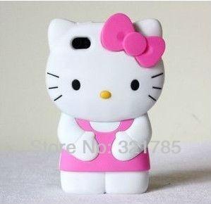 capa para iphone 4s da hello kitty