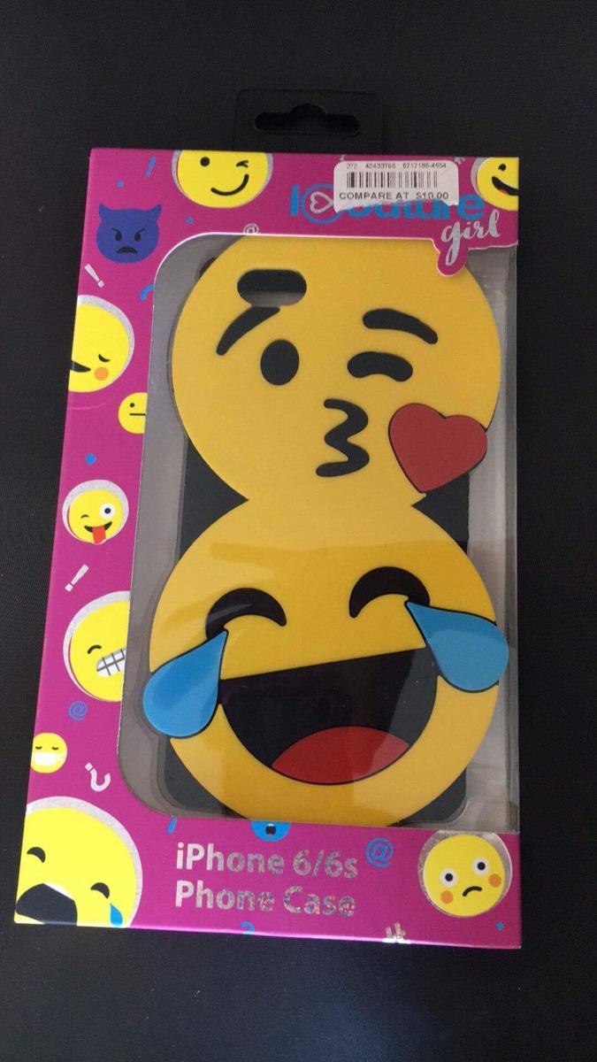 Capa Para Iphone 6 6s 7 8 Emoji