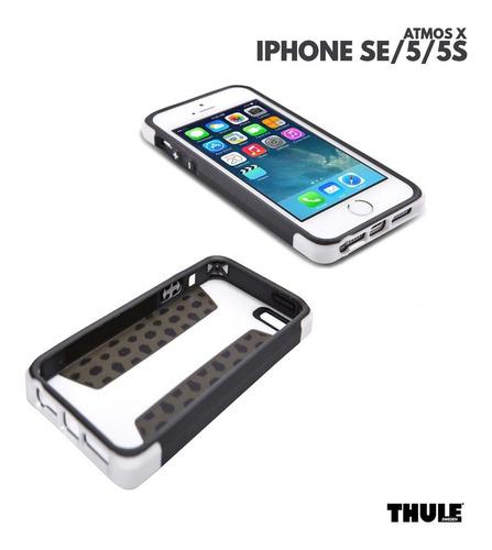 capa para iphone se 5 5satmos x3 thule branco e preto