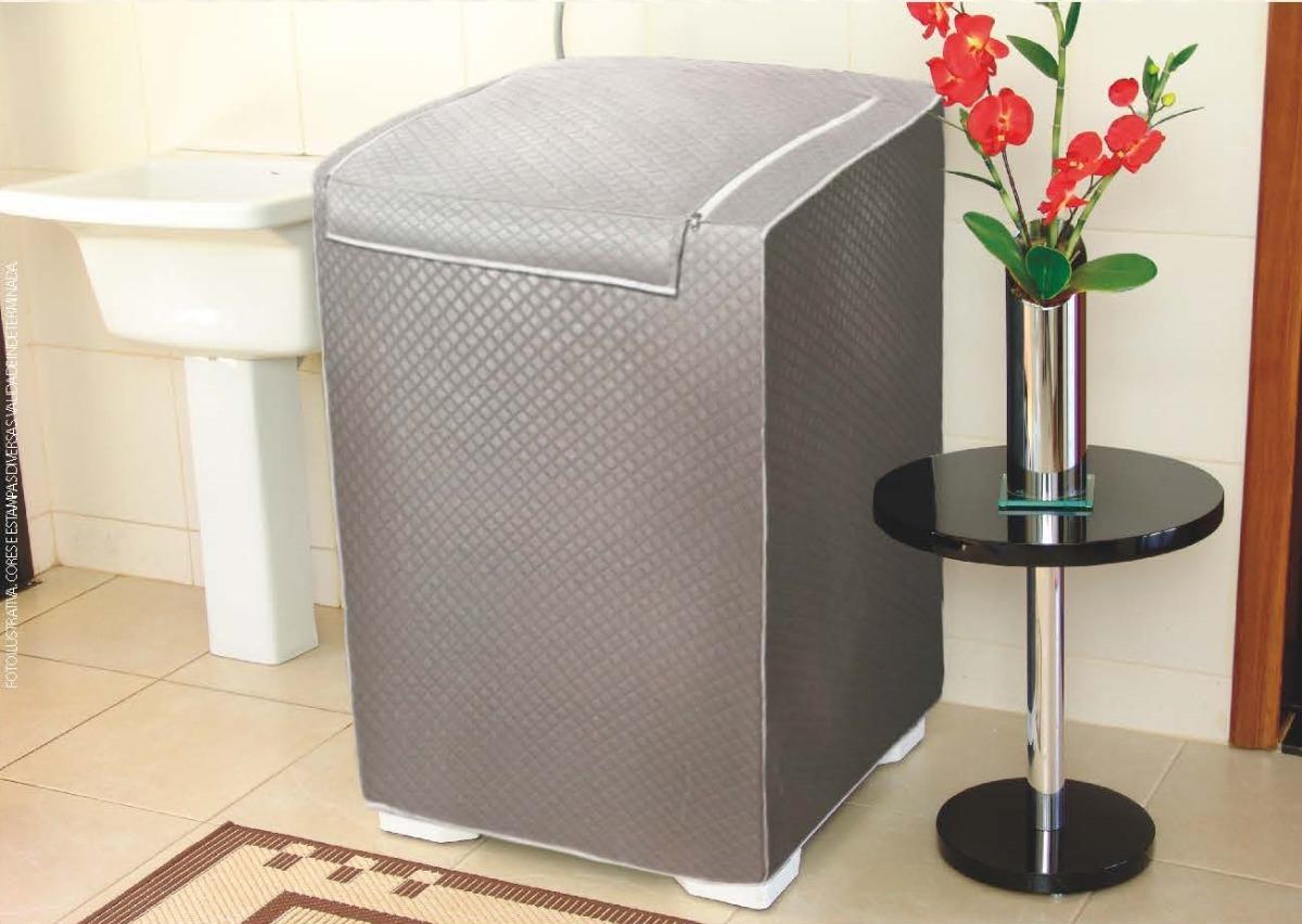 9bd4e1e46 capa para maquina de lavar brastemp active 11kg com zíper. Carregando zoom.