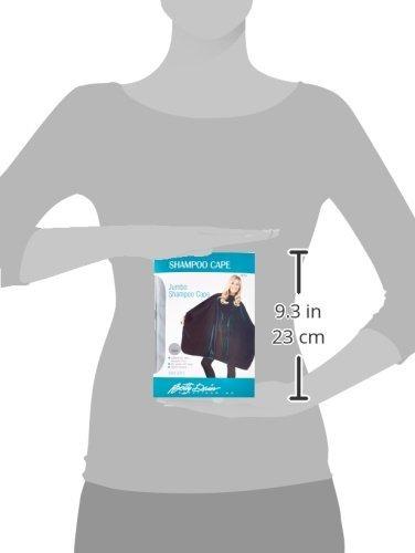 capa para peluquería betty dain de nylon resistente agua 45