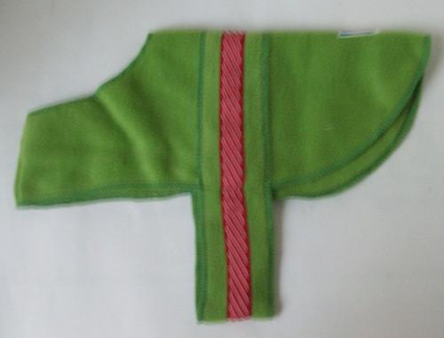 capa para perro/gato verde