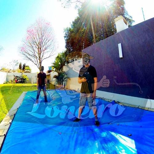 Capa para piscina 3x2 lona prote o cobertura t rmica azul for Piscina 3 re