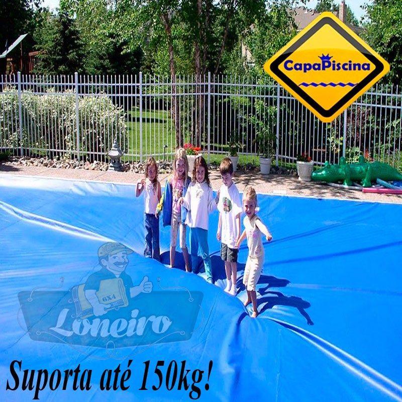Capa para piscina 3x2 lona prote o cobertura t rmica azul r 279 00 em mercado livre - Piscinas desmontables 3x2 ...