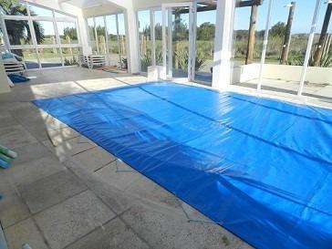 capa para piscina - 4,35x2,5 lona forte sob medida