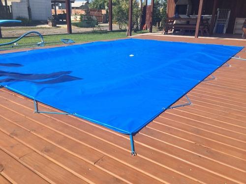 capa para piscina 4,7x3,5  lona forte proteção