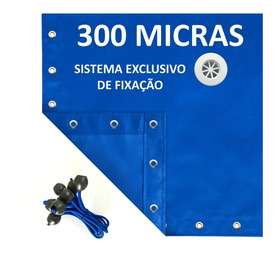 Capa Para Piscina 6x3  300 Micras Reforçada Slf