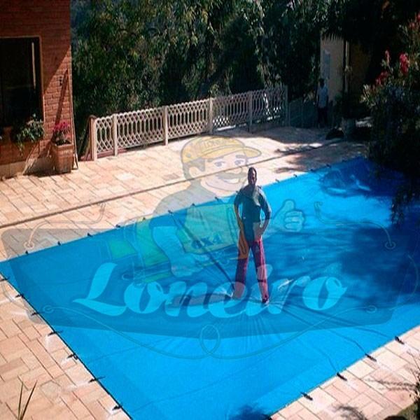 Capa para piscina 7x5 lona prote o cobertura t rmica azul for Piscina 7 de agosto