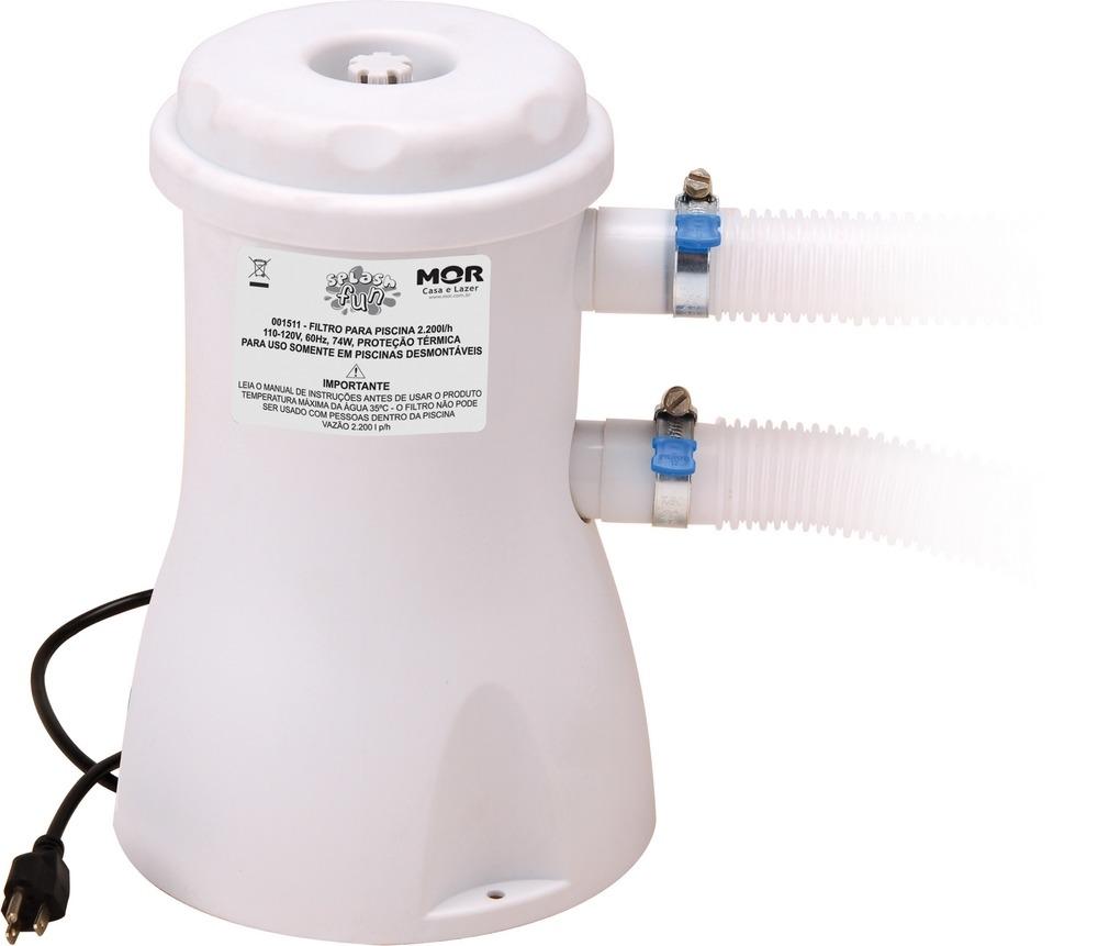 Capa para piscina 3000 litros standart forro filtro for Piscina 3000 litros