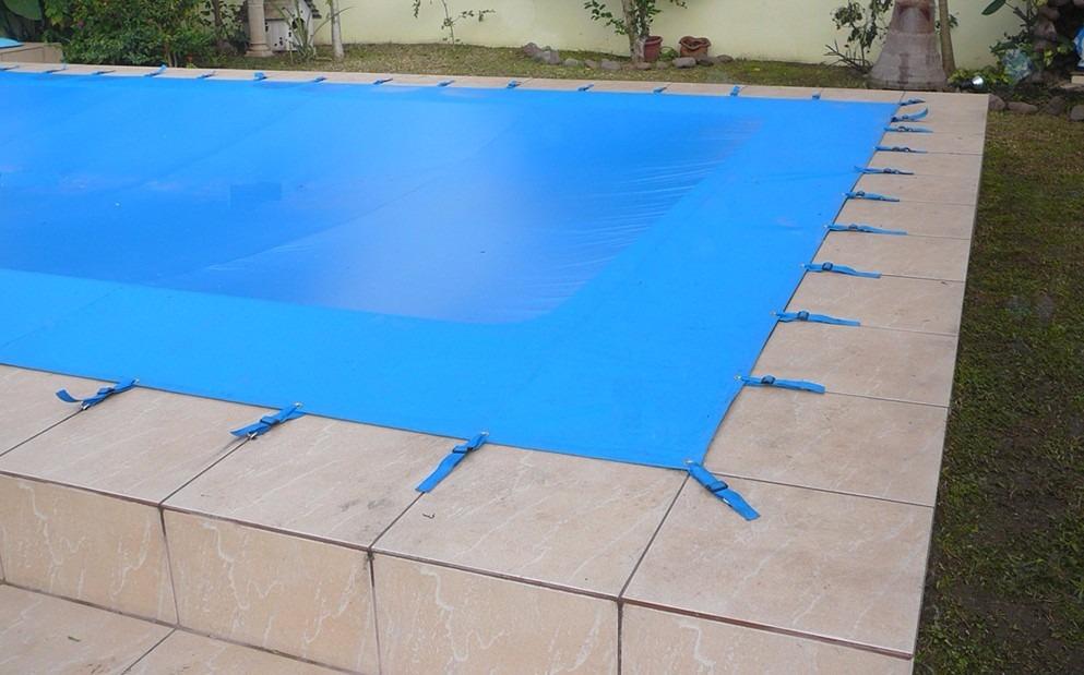 Capa para piscina em lona igui sodramar sibrape for Lonas para tapar piscinas