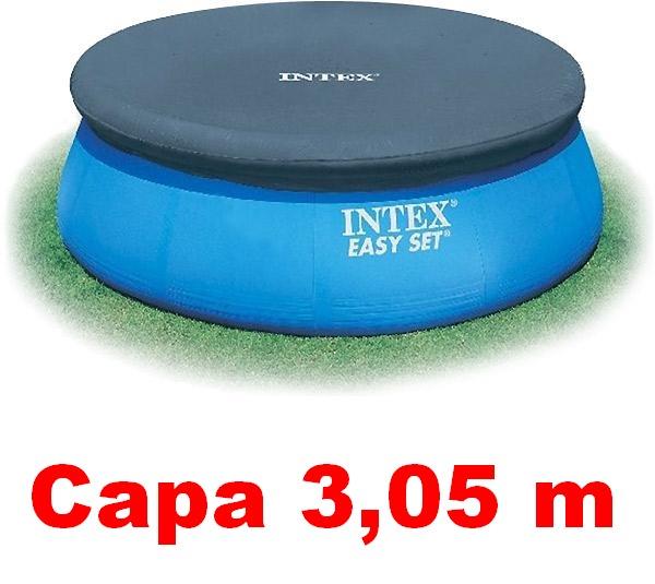 Capa para piscina intex infl vel 305 cm 3 05 m di metro for Piscina intex 5 metros diametro