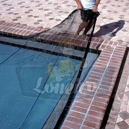Capa para piscina tela de pvc 6 x 3 lona prote o for Tela impermeable para piscinas