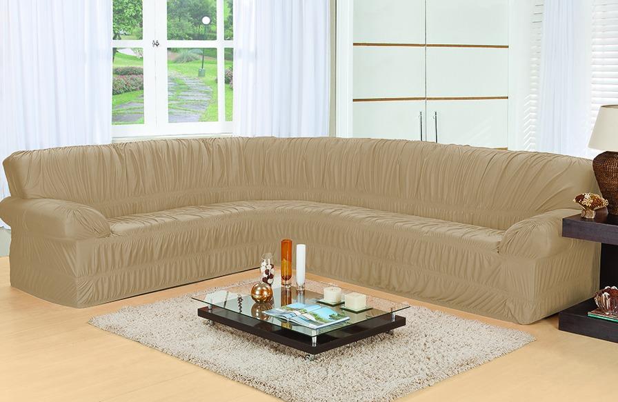 Capa para sofa de canto 6 lugares direto da f brica r for Sofa de canto 6 lugares
