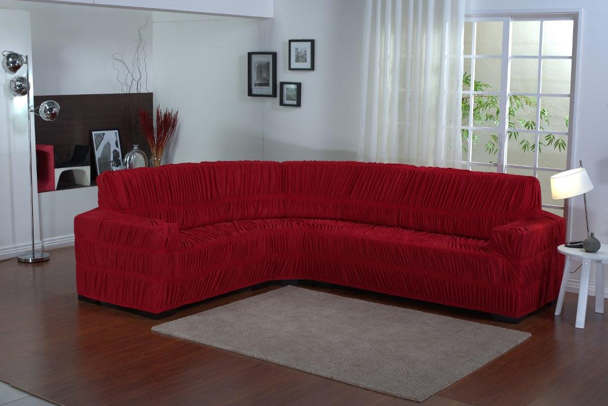 Capa Para Sofa De Canto 6 Lugares - Frete Grátis - R$ 139 ...