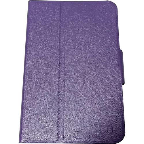 capa para tablet até 7' samsung giratório lilás - full delta