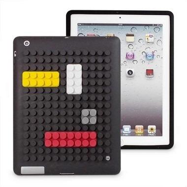 capa para tablet bloquinhos - preto