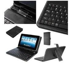 capa para tablet com teclado powerpack usb 8 polegadas