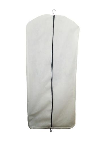 capa para vestido com zíper - 100% tnt