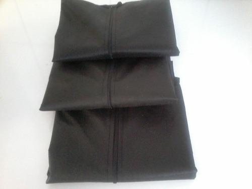 capa para vestido de festa com zíper e alça - 100% tnt