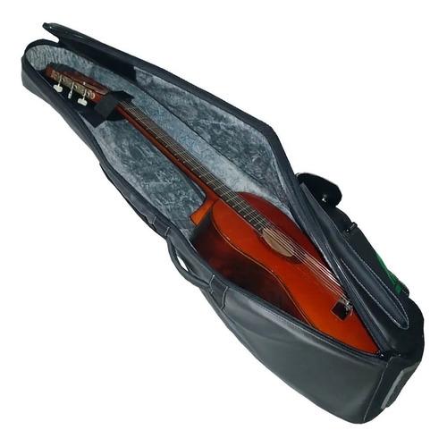 capa para violão clássico couro sintético newkeepers eagle